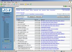 Messagerie avancée - webmail