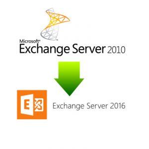 Messagerie Exchange, de 2010 vers 2016 - DDO ORGANISATION